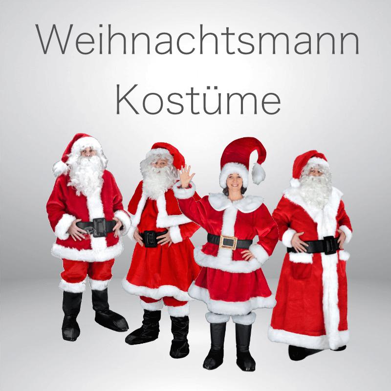 Weihnachtsmann Kostüme günstig kaufen im Kostümshop.
